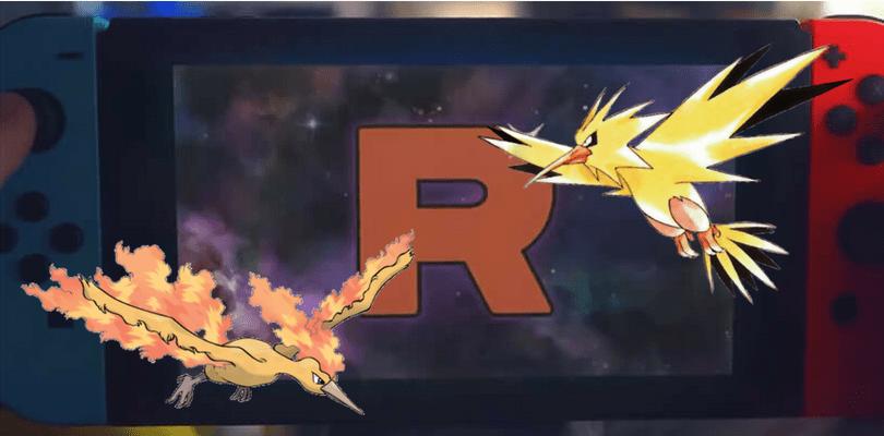 Un nuovo trailer giapponese di Pokémon Let's Go mostra Zapdos, Moltres e il Team Rocket