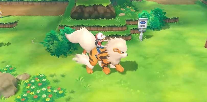 I Pokémon compagni seguiranno gli Allenatori anche negli edifici in Pokémon Let's Go