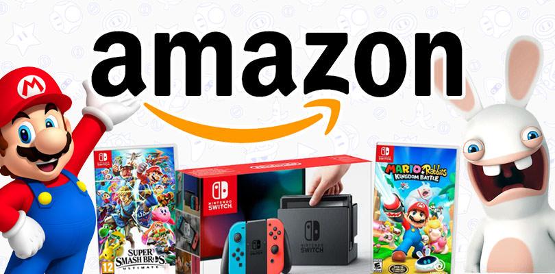 Super Smash Bros. Ultimate, Mario + Rabbids e tanto altro in offerta su Amazon