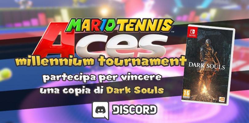 Vinci Dark Souls con Mario Tennis Aces: Millennium Tournament!