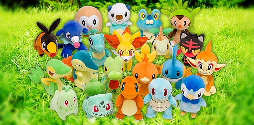 In arrivo i nuovi peluche per celebrare il ventesimo anniversario dei Pokémon Center