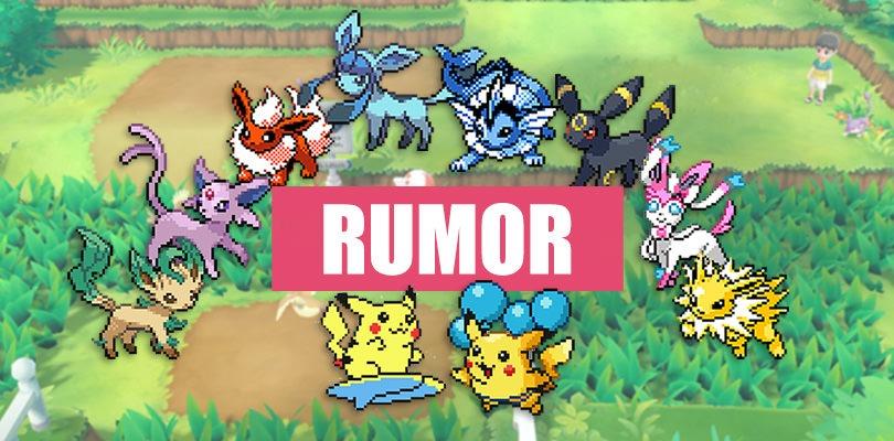 [RUMOR] Pikachu Surfista e una nuova evoluzione di Eevee in Pokémon Let's Go?