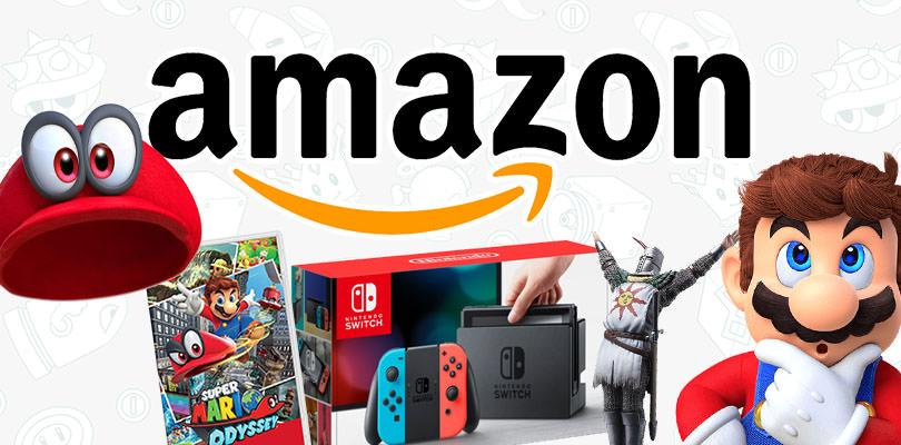 Super Mario Odyssey, Dark Souls Remastered e tanto altro nelle offerte Amazon di questa settimana