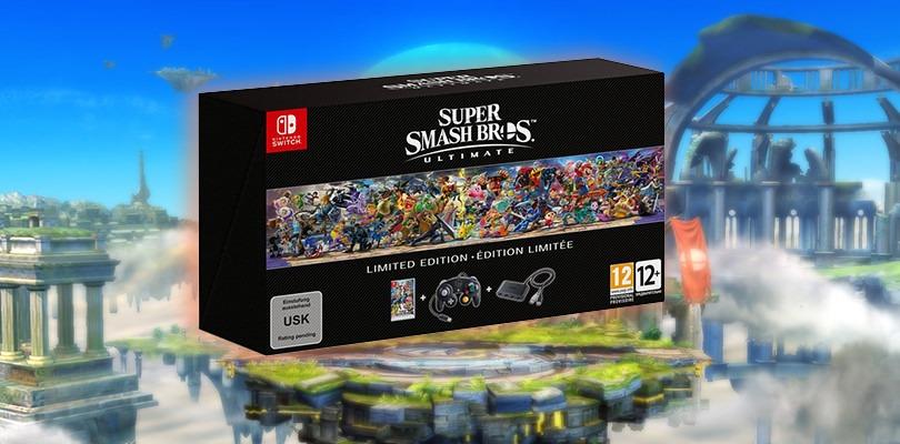 Annunciata l'edizione limitata di Super Smash Bros. Ultimate anche in Europa