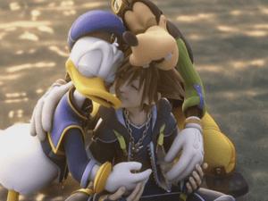 Kingdom Hearts Hug