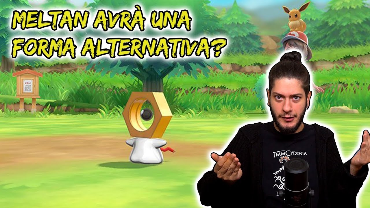 [VIDEO] Meltan avrà una forma alternativa?