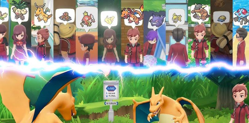 Gli Allenatori Esperti si presentano in un nuovo trailer di Pokémon Let's Go