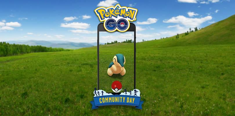 Cyndaquil sarà il protagonista del Pokémon GO Community Day di novembre