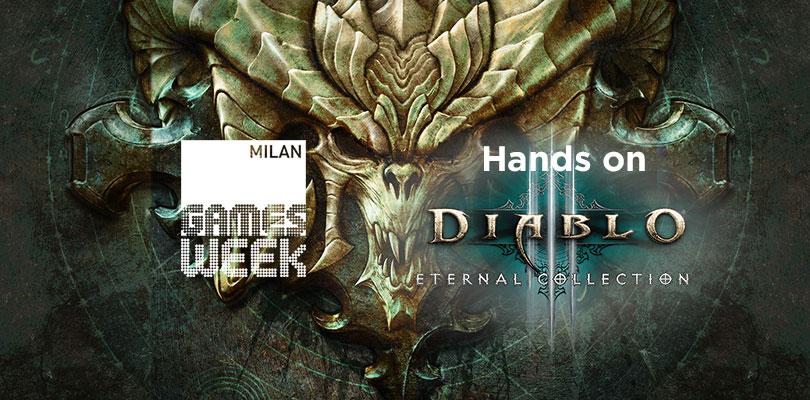 Diablo III arriva su Nintendo Switch! Ecco le nostre impressioni dalla demo della Milan Games Week