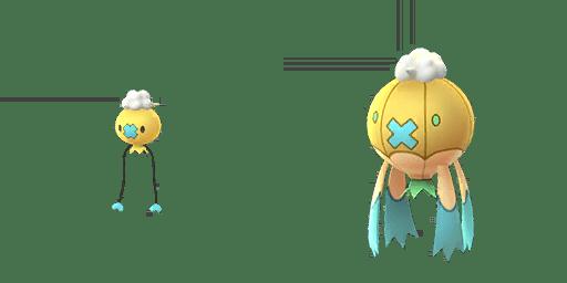 Pokémon GO Drifloon e Drifblim cromatici