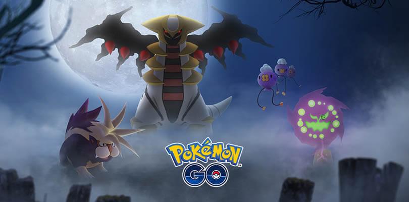 Giratina e nuovi Pokémon di Sinnoh nell'evento di Halloween in Pokémon GO