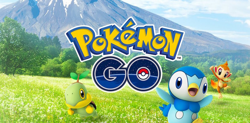 I Pokémon di Sinnoh sono ora disponibili in Pokémon GO!
