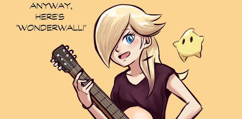 Rosalinda diventa chitarrista nell'artbook di Super Mario Odyssey