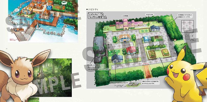Alcuni bozzetti mostrano i progetti su Pokémon: Let's Go, Pikachu! & Eevee!