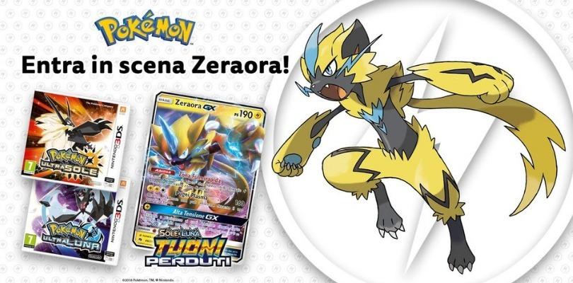 Disponibile la distribuzione di Zeraora nei GameStop italiani