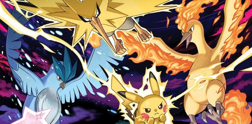 In Pokémon Let's Go è possibile trovare più esemplari dei tre uccelli leggendari
