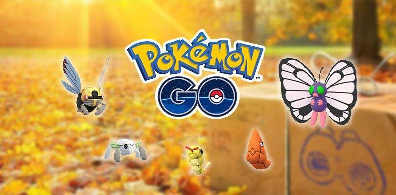Nincada, Caterpie cromatico, nuove missioni e molto altro sono disponibili in Pokémon GO