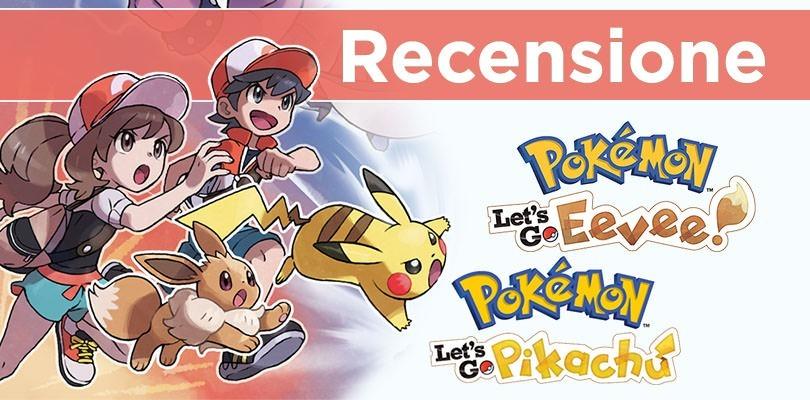 [RECENSIONE] Pokémon Let's Go Pikachu e Eevee: è davvero rivoluzione?