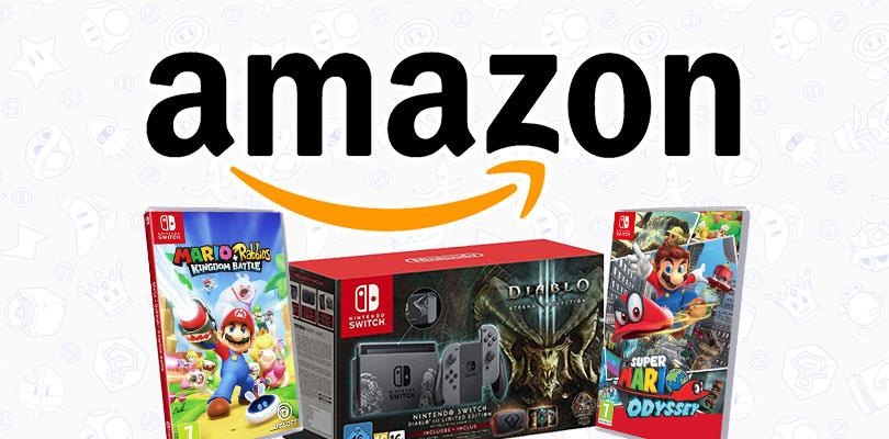 Tanti giochi della serie Super Mario tra le offerte Amazon di questa settimana!
