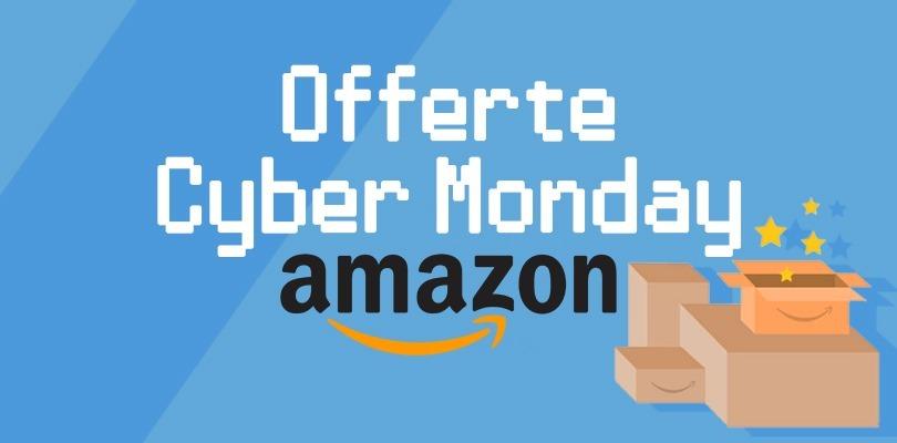 Arrivano le offerte dell'Amazon Cyber Monday 2018
