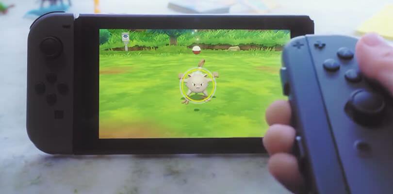 Non sarà possibile utilizzare il Pro Controller in Pokémon Let's Go