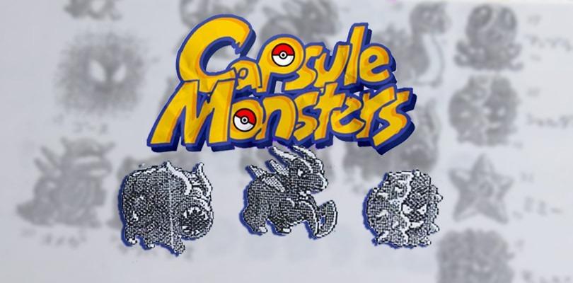Mostrato l'aspetto iniziale di alcuni Capsule Monsters e Pokémon di prima generazione