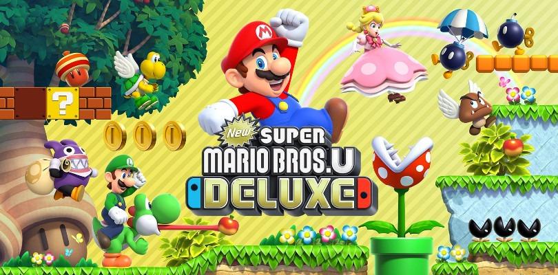 Nintendo rilascia un nuovo trailer per New Super Mario Bros. U Deluxe