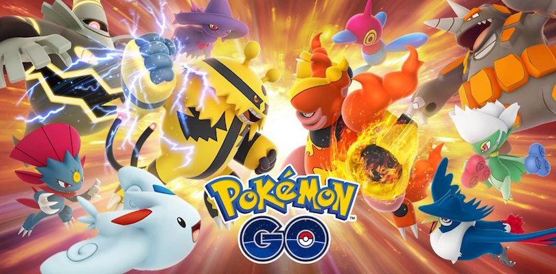 Pokémon GO aveva considerato le lotte sei contro sei