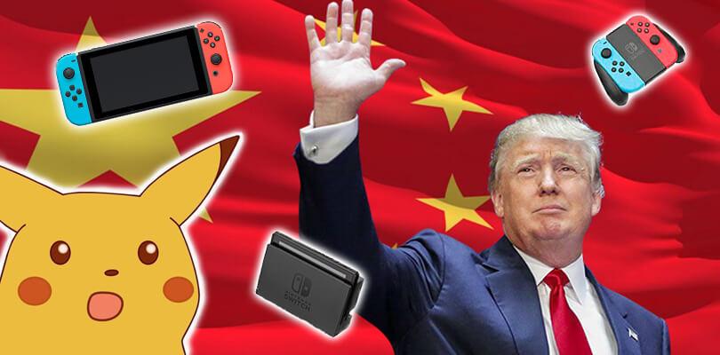 La politica di Trump potrebbe mettere a rischio Nintendo Switch e altre console