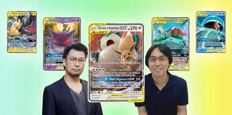 Mitsuhiro Arita e Nagashima svelano tutti i segreti delle carte GX ALLEATI