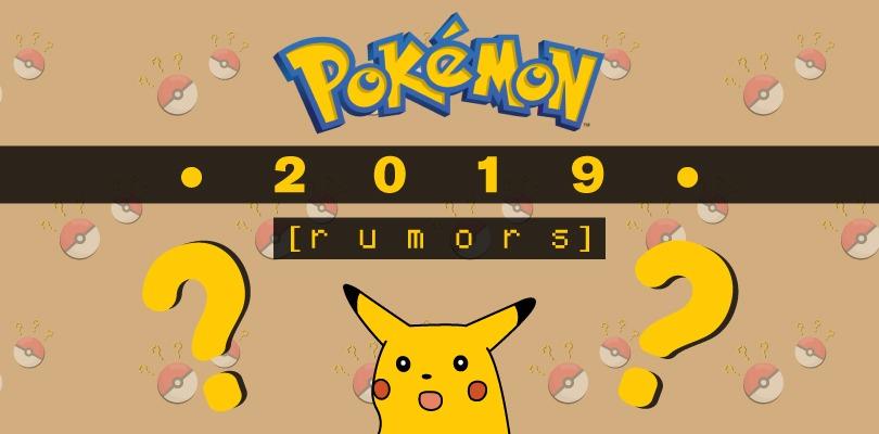[RUMOR] Importanti novità per Pokémon 2019 in arrivo questa settimana?