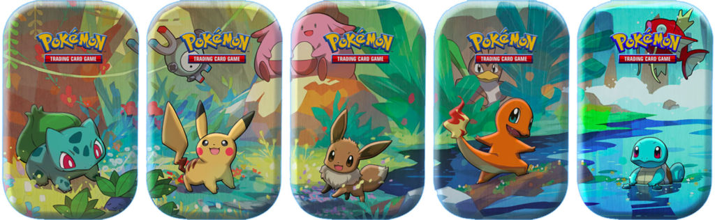 kanto friends mini tins