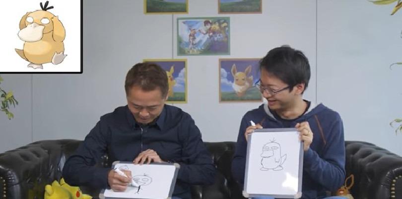 Junichi Masuda e Kensaku Nabana si fronteggiano in una sfida di disegno Pokémon