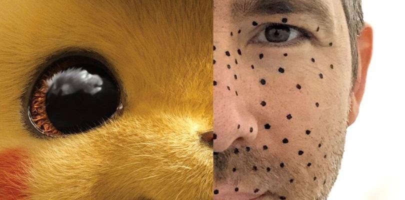 Ryan Reynolds mostra un'immagine scattata dietro le quinte di Detective Pikachu