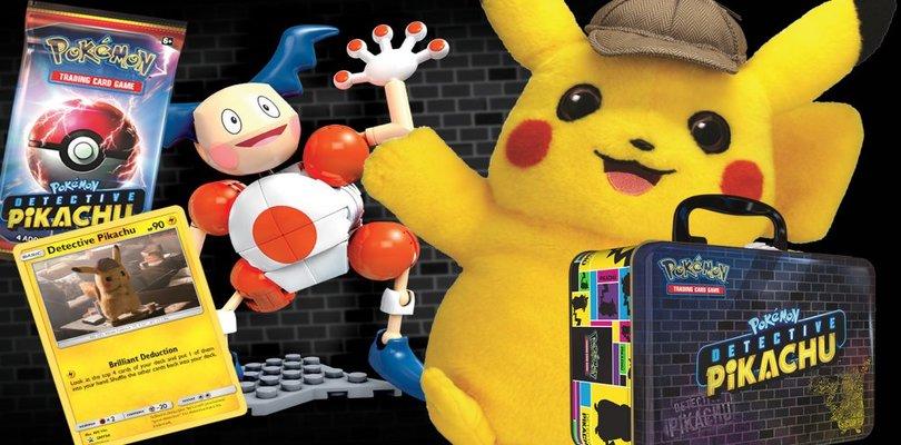 The Pokémon Company International svela la linea di prodotti dedicati a Detective Pikachu