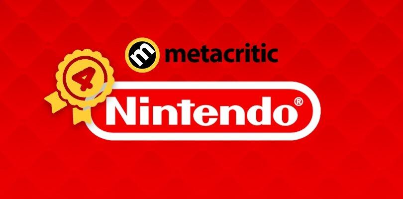 Secondo Metacritic, Nintendo è il quarto miglior produttore di videogiochi nel 2018