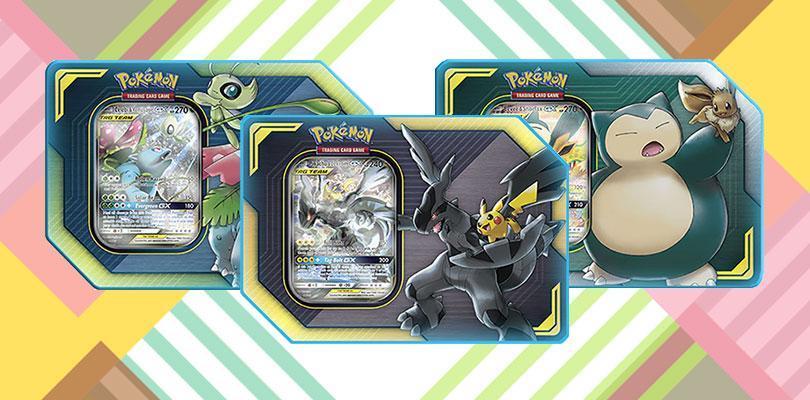 In arrivo le scatole da collezione dedicate ai Pokémon GX ALLEATI