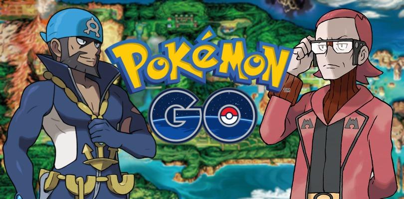 Pokémon GO accoglie il Team Magma e il Team Idro