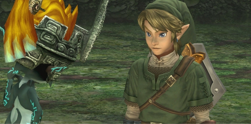 Link e Midna in Zelda: Twilight Princess