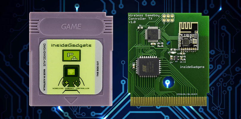 Questa speciale cartuccia vi permette di usare il Game Boy come controller di gioco per Wii, Game Cube e PC