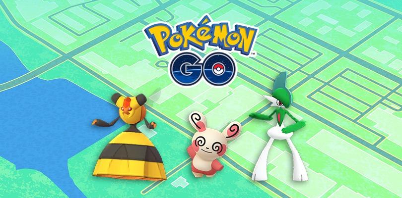 L'aggiornamento di Pokémon GO si prepara all'arrivo di nuovi Spinda e le evoluzioni per genere