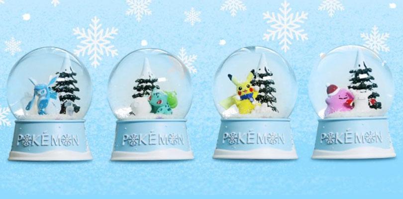 La nuova linea di palle di neve dei Pokémon disponibile in Corea del Sud