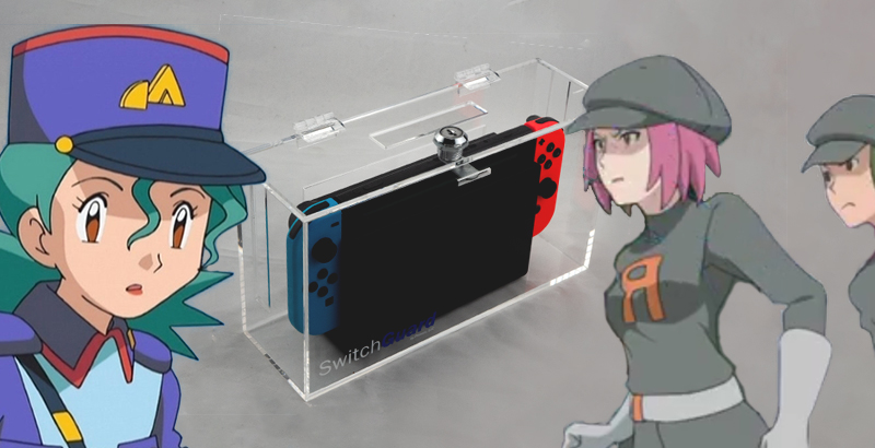 Paura dei ladri? Ci pensa SwitchGuard, l'antifurto per Nintendo Switch