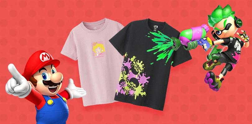 Nuove magliette targate Super Mario e Splatoon in arrivo