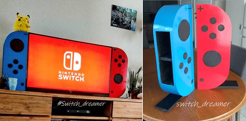 Un fan ha trasformato la sua TV e il suo tavolino in due enormi Nintendo Switch!