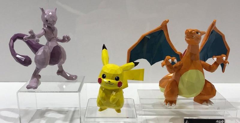 Arrivano i Pokémon Polygo, la nuova squadrata serie di statuette