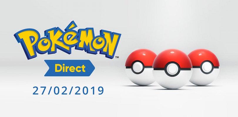 Annunciato il Pokémon Direct del 27 febbraio: vedremo i nuovi Pokémon iniziali?