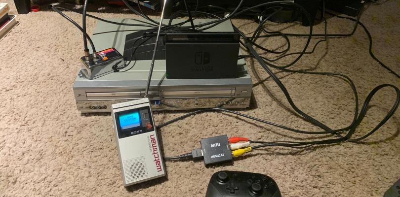Ultra HD? Un utente è riuscito a far girare Super Smash Bros. Ultimate su un Sony Watchman degli anni '80