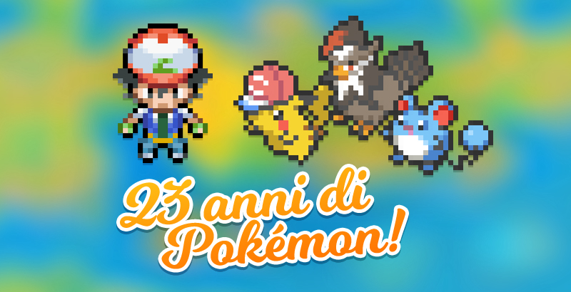 Festeggia insieme al PokéPoints Store il 23° anniversario Pokémon!