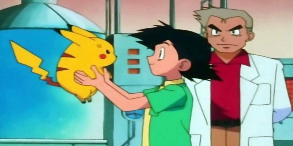 ash e pikachu anime pokémon